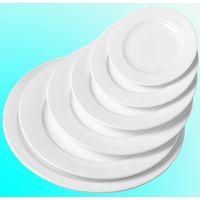 All size wholesale wedding elegant round white porcelain dinner plate