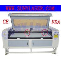 Multi Heads Texitle Laser Cutting Machine 16001000mm