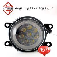 Low price 24W LED Fog Light COB Angel Eye Rings universal LED Fog Light/Fog lamp for cars