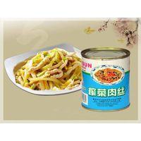 Canned Shredded pork & Preserved vegetable