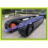 custom built steel track undercarriage crawler undercarriage