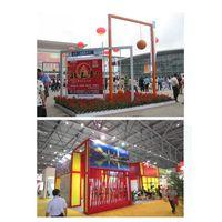 International column extrusion prism exhibition stand display show trade fair builder producer