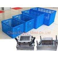 OEM professional design plastic crate mould