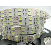 Double Row 5050 LED Strip Flexible Light DC12V 120LEDs/M