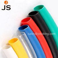 Thin wall colors polyolefin halogen free flame retardant heat shrink tubing