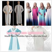 100% polyster superfine fabric, Arabia robe fabric,Muslim fabric