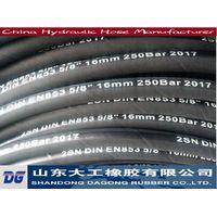 Hydraulic hoses for hydraulic system