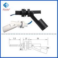 Fast Sensor Horizontal Installation magnetic side mounted float level switch Sensor