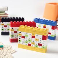 juggle perpetual calendar, DIY Building block calendar