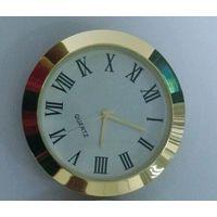 2inch insert clock 50mm metal insert clock