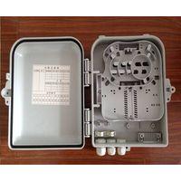 outdoor/indoor 12 core FTTH Fiber optic plastic Distribution box PC/ABS