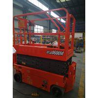 Scissor Lift Man Lift with 6m Platform Height 230kg Load Capacity