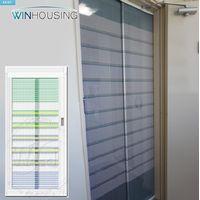Roll-type Door Mosquito Netting System - DIY