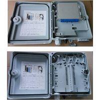 outdoor/indoor FTTH Fiber optic plastic Distribution box 12core PC+ABS