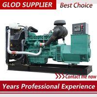 volvo generator 100kw with stamford alternator and smart controller