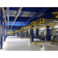 Aluminium anodizing automatic plating high quality electroplating line