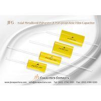 JFGA -- Axial Metallized Polyester Film Capacitor (CYCLOIDAL)