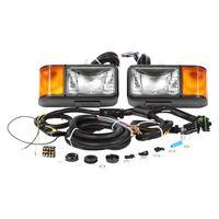 Round led tail lamp,led truck light,led side lamp fit truck trailer car