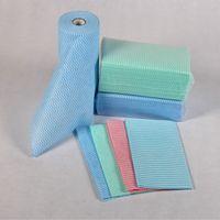 mesh waved spunlace nonwoven fabric