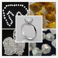 Wholesale Lab Grown White Rough Diamond Engagement Rings
