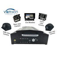 8V - 36V GPS wifi G - sensor 3G Bus MDVR system with 2TB Hard Drive