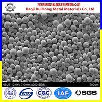 Gold supplier of titanium spherical metal powder