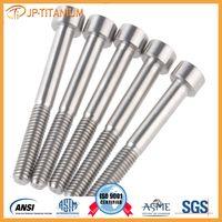 GRade2/grade5 DIN, ISO, JIS M630 titanium fasteners, bolts, washers, screws