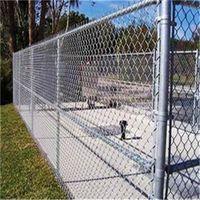 Electro Galvanized Chain Link Wire Mesh