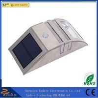 Aluminium Garden Solar Led Outdoor Led Step Lights For Stairs