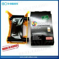 Pcc compatible Zebra 800011-140 YMCKO_100 color ribbon for Zxp series 1 ID card Printer