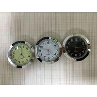 37mm mini insert clock silver clock fitups