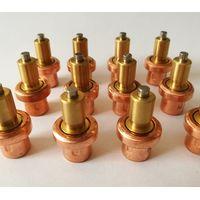 Thermostatic mixing valve actuators, wax element