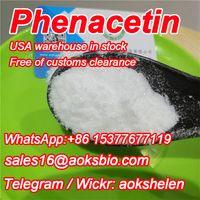 China supplier phenacetin powder,phenacetin white crystal