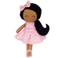 Lovely Stuffed Plush Baby Lovely Rag Doll Black Girl
