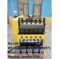 Factory supply steel scourer making machine 8 wires 4 balls