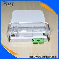 Hua Wei SC / APC 2Cores Fiber Optic Terminal Box