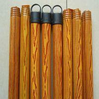 120X2.2cm PVC Coated Broom Wooden Handle