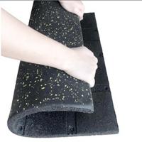 EPDM premium rubber tile for indoor flooring