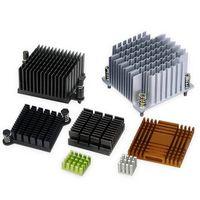 Christmas T3-T8 profile 6063 aluminum small extruded IC/Chip/RAM/GPU/CPU heat sink heatsink