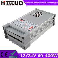 12/24V 60-400W constant voltage aluminum shell rainproof LED power