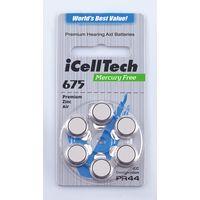 675 Zinc Air Mercury Free Hearing Aid Batteries