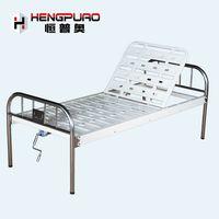 elderly patient manual adjustable reclining hospital beds for sale