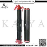 2017 OEM Hot Sale Cosmetic Double-end Lipstick Pen Colour Pop Ultra Matte Lipstick