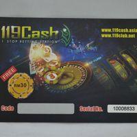 cheap printing CMYK glossy scratch card supplier