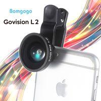 Bomgogo Govision L2 Wide Angle,Fish Eye, Macro 3 in 1 Phone Camera Lens Kit