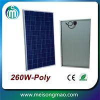 Grade A NPS 260w poly solar panel