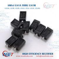 WEET SMA-J US1A THRU US1M Surface Mount High Efficiency Rectifier