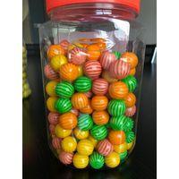 Ball bubble gum