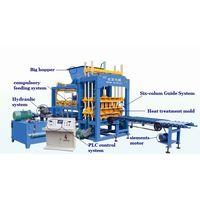 QT5-15 permeable paver brick block machine hydraulic concrete hollow block machine