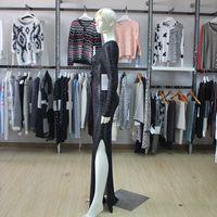 Womens Lace Up Extra Long Sweater Dress Split Hem Design Fall/Winter Ladies Eyelet Knit Dress